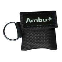 First Aid Kit Res-Cue Key Mini CPR Mask Keychain, with Standard Woven Pack | Ambu #248201102