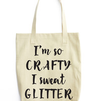 I'm So Crafty Tote