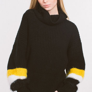 Do You Miss Me Sweater - Black