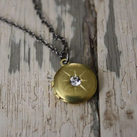 Wish Upon a Star Locket Necklace