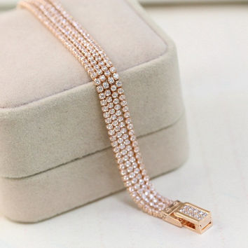 Awesome Hot Sale New Arrival Gift Great Deal Shiny Accessory Stylish Luxury Korean Bracelet [6513478407]