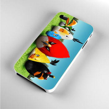 Angry Birds Painting iPhone 4s Case