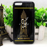 J Cole Born Sinner Gold Edition Print On Hard Plastic Cover For iPhone 6/6s