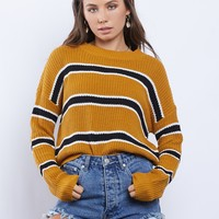 Teen Spirit Striped Sweater