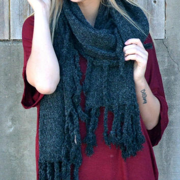 It's A Wrap Scarf - Black