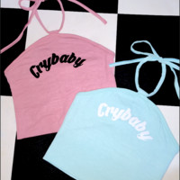 SWEET LORD O'MIGHTY! CRYBABY HALTER IN PINK