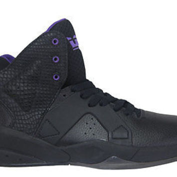 Supra Mens Sneakers Magazine Black Purple SP75061