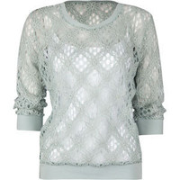LOST Cypress Lace Knit Womens Top 190374522 | tops | Tillys.com