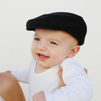 Christening hat white newsboy hat d656807bb17