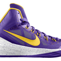 Hyperdunk 2014 iD Custom Kids' Basketball Shoes 3.5y-7y - Purple