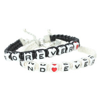 LOVEsick Forever And Ever Bead Bracelet 2 Pack
