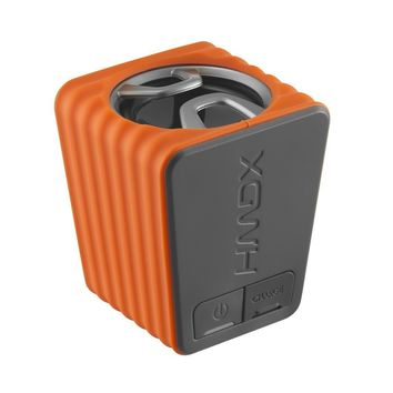 Orange HMDX Portable Bluetooth Speaker