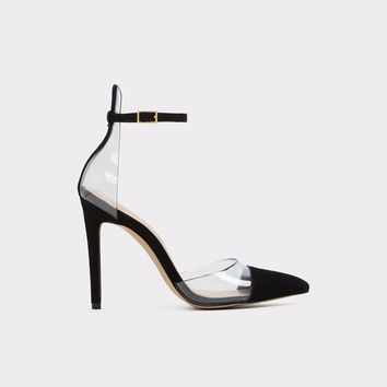 Unglesbee Black Nubuck Women's Pumps | Aldoshoes.com US