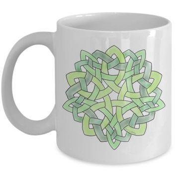 Celtic Knot Coffee Mug ~ Irish Scottish Gaelic Art