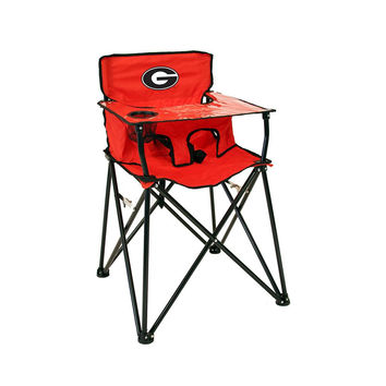 Georgia Bulldogs NCAA Ultimate Travel Child High Chair