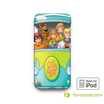SCOOBY DOO 2 Mystery Machine  iPod Touch 4 5 6 Case