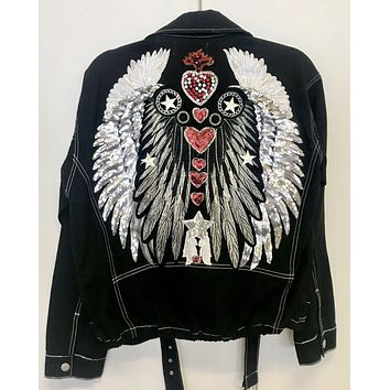 NEW Chakras Biker Jacket