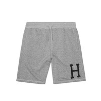 HUF - HUF CLASSIC H FLEECE SHORTS ESSENTIAL // GRAY HEATHER
