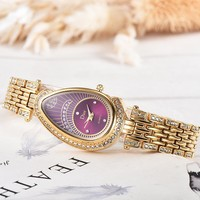 8DESS Dior Women Fashion Quartz Movement Wristwatch Watch