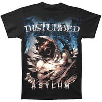 Disturbed Men's  Night T-shirt Black Rockabilia