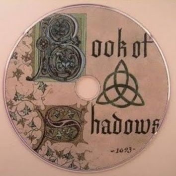 Charmed book of Shadows on DVD rom by woodshadows on Etsy