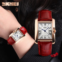 2015 New Fashion Quartz Wrist Watch With Leather Band Casual Luxury Watch ( Red , Black , Coffee )