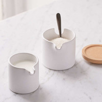 Nesting Cream + Sugar Dish Set | Urban Outfitters