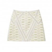 Kazan Lace Mini Skirt