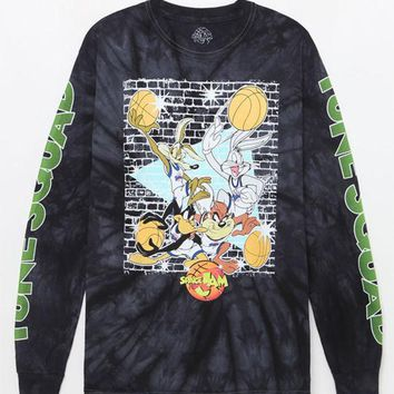 DCCKYB5 Space Jam Tune Squad Washed Long Sleeve T-Shirt