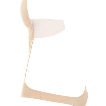 Intimates : Nude Plunge Self Adhesive Backless Bodysuit