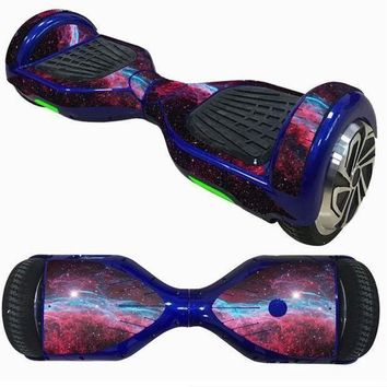 ICIKGQ8 2017 new 6 5inch self balancing scooter skin hover electric skate board sticker two wheel smart protective cover case stickers