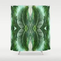 ARECALES Shower Curtain by Chrisb Marquez