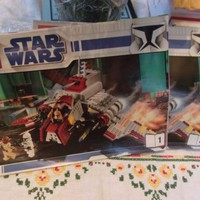 Lego Star Wars 8019 Clone Wars Republic Attack Shuttle Instruction MANUAL ONLY
