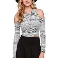 LA Hearts Cold Shoulder Cropped Top at PacSun.com