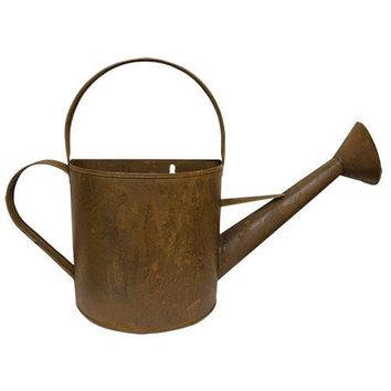 Watering Can -Rusty Wall Large - Decor