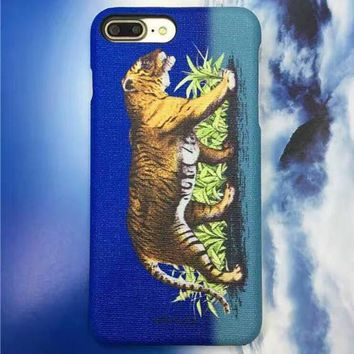 GUCCI Fashion Animal Print iPhone Phone Cover Case For iphone 6 6s 6plus 6s-plus 7 7plus-3