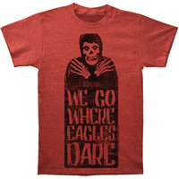 Misfits Men's  Where Eagles Dare Subway T-shirt Heather Rockabilia