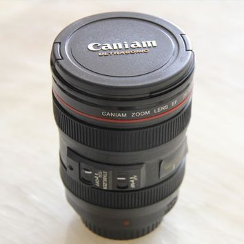 New Coffee Lens Emulation Camera Mug Cup