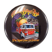 Allman Brothers - Fire Truck Button