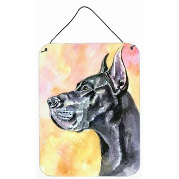 Great Dane Black Cropped Wall or Door Hanging Prints 7307DS1216