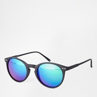Jeepers Peepers Eden Round Sunglasses at asos.com