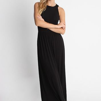 Hawaiian Gardens Knit Maxi Dress | Ruche