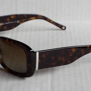 VERSACE Mod 4146 Women Tortoise Brown Sunglasses Made in Italy