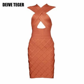 Party Women Dress Sexy Night Club Dresses Off Shoulder Bodycon Dress cut out bandage