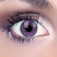 Natural Eyes Contact Lenses | Mystic Violet Contact Lenses (Pair)