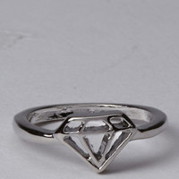 Cutout Diamond Ring