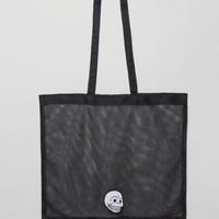 Cheap Monday Mesh Skull Shopper at asos.com