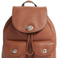 COACH Pebbled Leather Rucksack | Nordstrom
