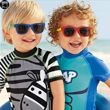 USEEMALL Children Swimsuit One Pieces Animal Kids Swimwear for Boys Girls Summer Bathing Suits Quick Drying Children's Swimwear