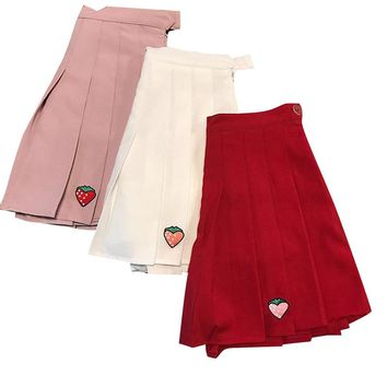 Strawberry Patch Tennis Skirt